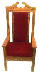 Pulpit Center Chair