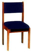 Choir Chair with Underseat Bookrack