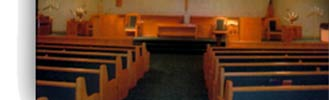 Fully Upholstered Padded Church Pews
