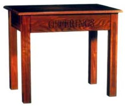 Offering Table (With Drawer)