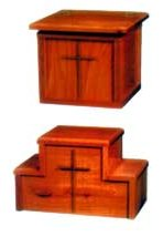 Table Model Tithes Box