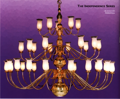 Jefferson Lighting Independence Chandelier for Church Lighting