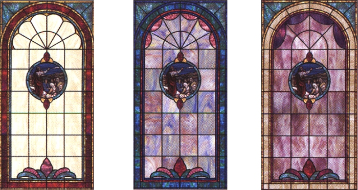 Stained Glass Windows Color Customization