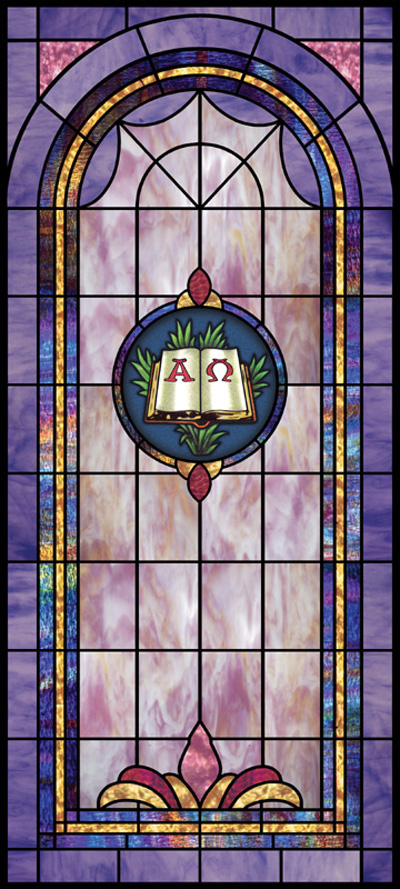 Stained Glass Window Designs : Choosing stained glass patterns